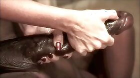 Big Tits and a Lovely Interracial Porn Video