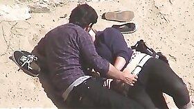 Couple Fucked On The Beach Hidden Cam