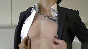 Cute white twink underwear video fucking