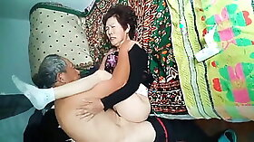 Amateur Asian Wife with big floppy tits