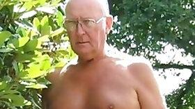 Grandpa hardons